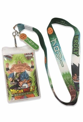 Broly Lanyard Dragon Ball Super Broly
