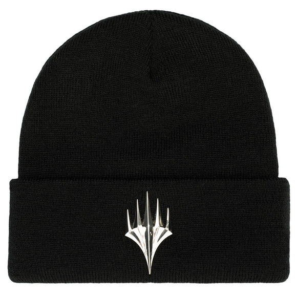 Magic the Gathering Chrome Logo Beanie