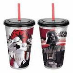 Darth Vader and Stormtrooper Plastic Travel Cup