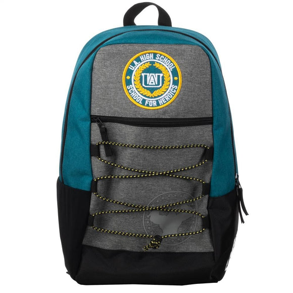 My Hero Academia Anime Manga UA High School Bungee Backpack by Bioworld Merch