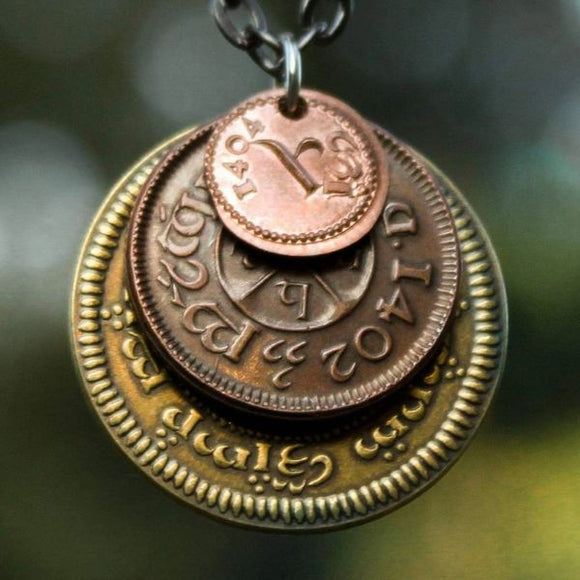 The Shire Layered Coin Necklace