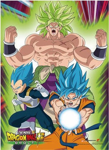 Dragon Ball Super Broly - Group 1 Wall Scroll