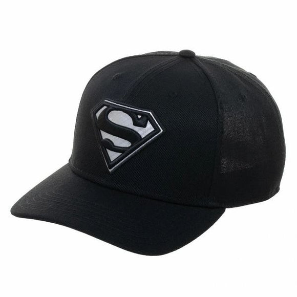 Superman Carbon Fiber Pre-Curved Snapback