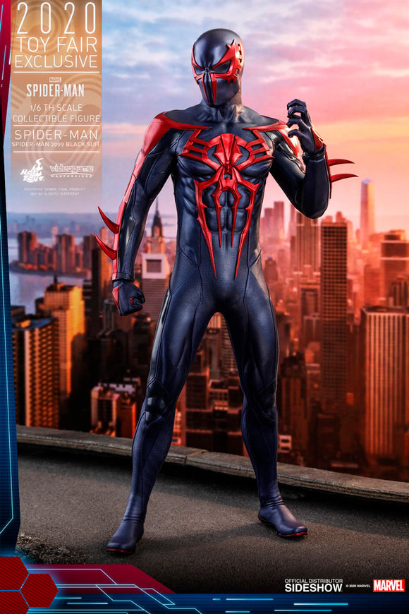 Spider-Man 2099 Black Suit Figure by Hot Toys