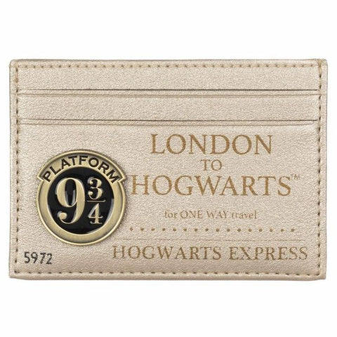 Hogwarts Express Ticket Card Wallet
