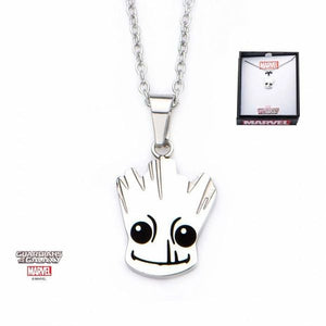 Groot Stainless Steel Necklace