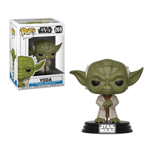 Yoda The Clone Wars Funko Pop!