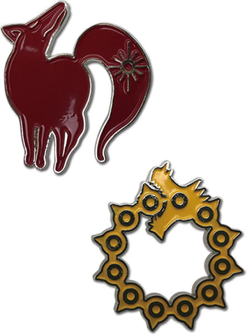 Sin of Wrath & Sin of Greed Pin Set