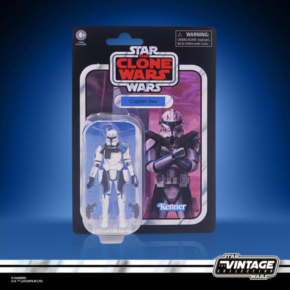 Captain Rex Star Wars Vintage Collection 2021 Wave 1