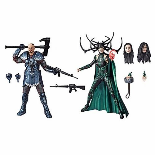 Skurge and Hela Marvel Legends 80th Anniversary 2 Pack