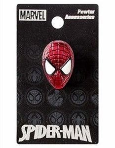 Spider-Man Head Color Lapel Pin