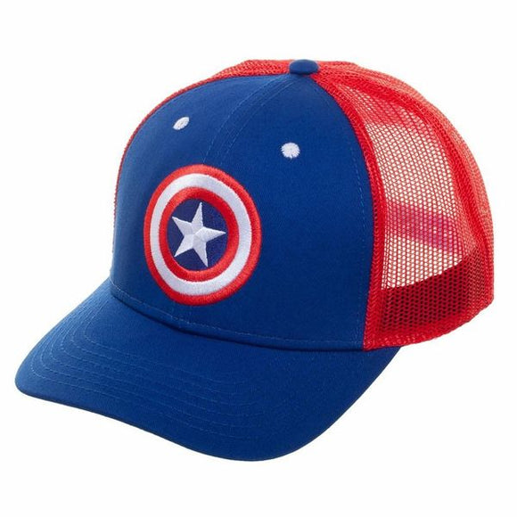 Captain America Mesh Hat