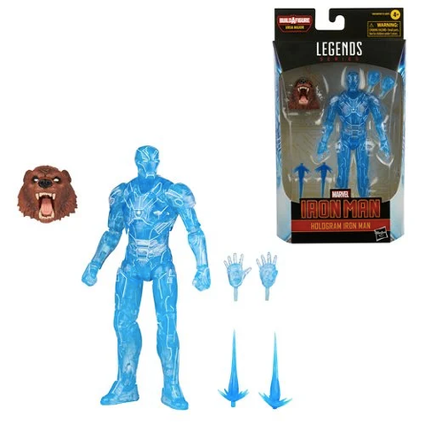 *Pre-Order* Hologram Iron Man Marvel Legends Ursa Major BAF