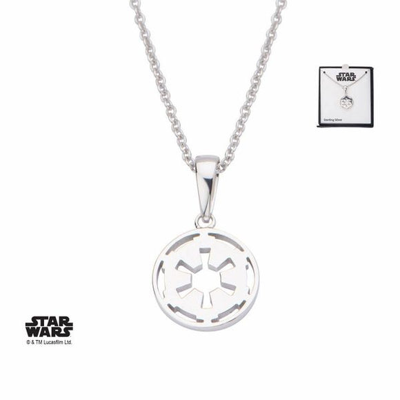 Empire Symbol Necklace Sterling Silver