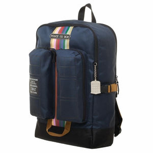 Doctor Who Double Pocket Backpack
