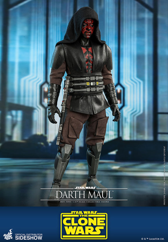 *Pre-Order* Darth Maul Clone Wars Sixth Scale Figure by Hot Toys