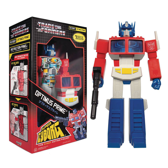 Optimus Prime Transformers Super Cyborg G1