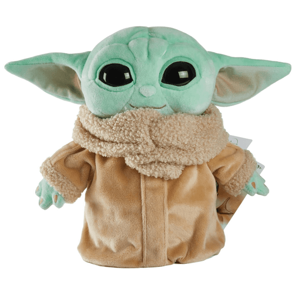 From Star Wars: The Mandalorian The Child 8 Inch Plush is as cute as any bounty could be! This adorable Baby Yoda plush stands 8-inches tall, is made with all soft goods, and is ready for a snuggle. Don't forget this asset on your next trip!