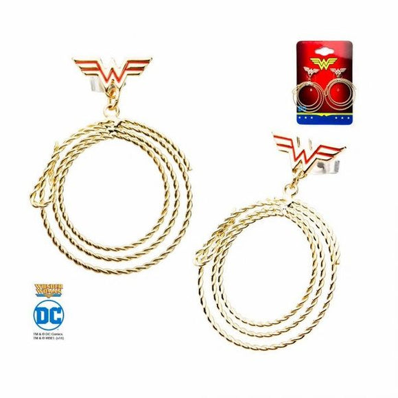 Wonder Woman Lasso Dangle Earrings
