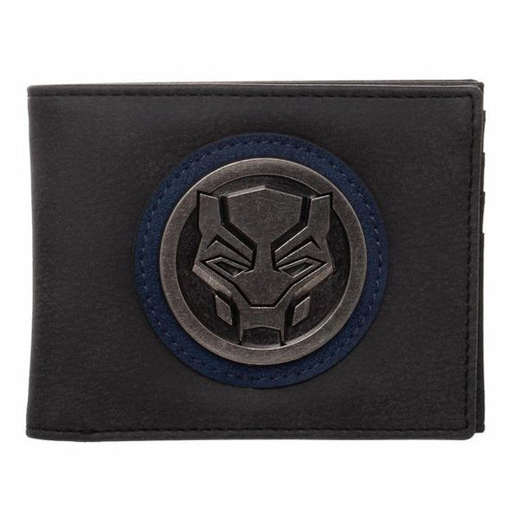 Black Panther Distressed Bi-fold Wallet