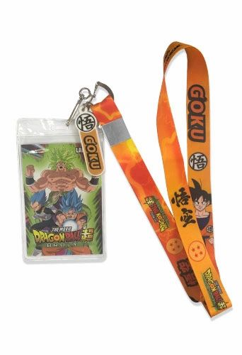 Goku Lanyard Dragon Ball Super Broly
