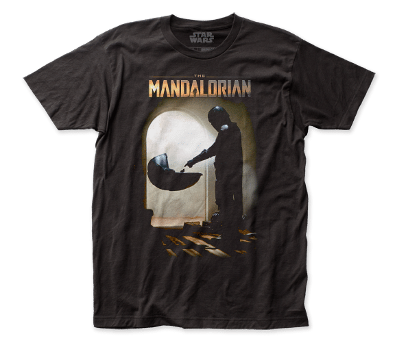 The Mandalorian Meets Grogu Baby Yoda Shirt