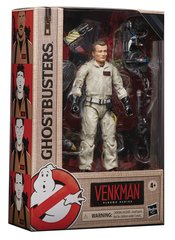 Kids and collectors alike can imagine slimy struggles and eerie ecto-encounters from the Ghostbusters Universe with figures from the Ghostbusters Plasma Series!    This six-inch-scale Peter Venkman action figure is detailed to look the character from the 1984 Ghostbusters movie, featuring premium detail and multiple points of articulation. Collect select figures in the Ghostbusters Plasma Series to build a bonus Terror Dog action figure!
