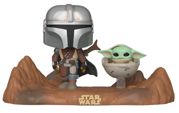 The Mandalorian and The Child (Baby Yoda) Funko Pop!