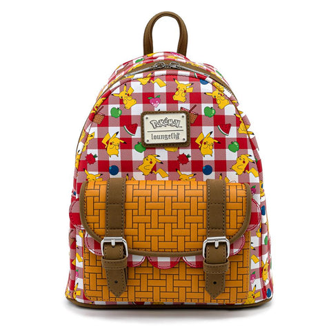 Pikachu Picnic Basket Mini Backpack by Loungefly