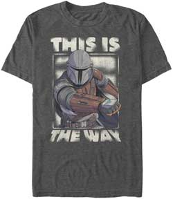 "Mandalorian ""This is the Way"" Shirt"