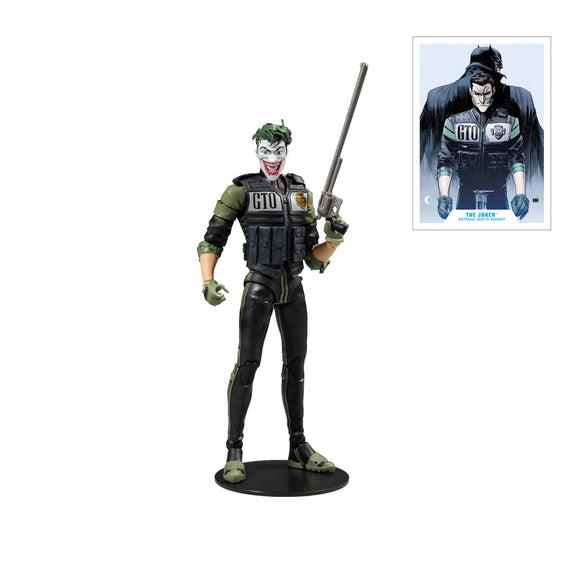 White Knight Joker McFarlane Figure