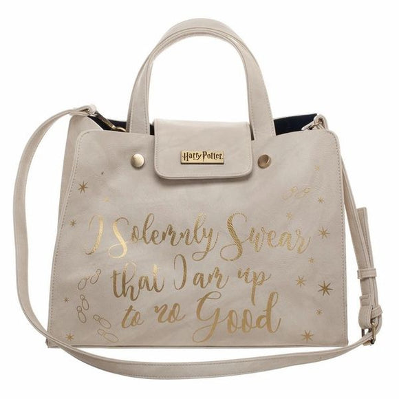 Harry Potter I Solemnly Swear Tote Purse by Bioworld