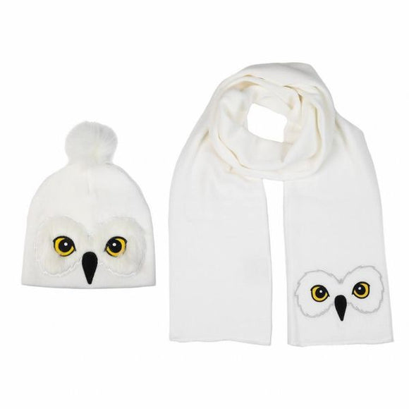Hedwig Beanie and Scarf Set
