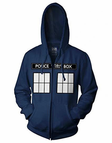 Doctor Who Call Box Hoodie