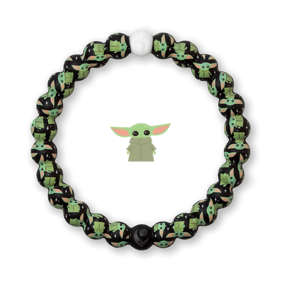 The Child Baby Yoda Black Lokai Bracelet