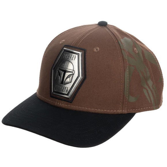 Mandalorian Pre-Curved Snapback Hat