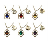Avengers Endgame Infinity Stone Necklace Set of 6