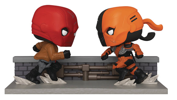Red Hood vs Deathstroke Pop! SDCC 2020 Px Exclusive
