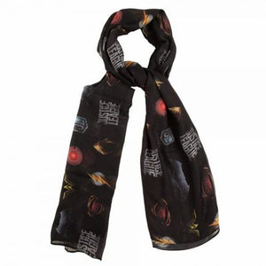 Justice League All-Over-Print Fashion Scarf