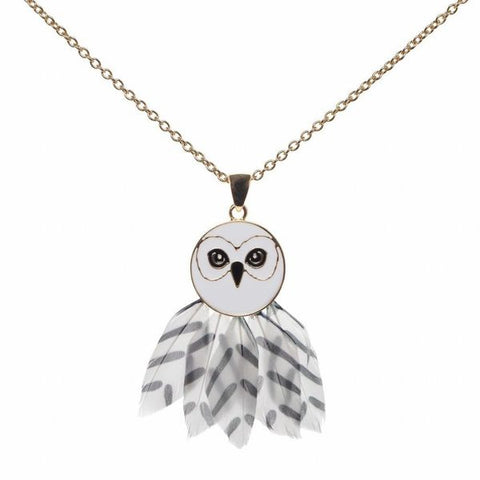 Hedwig Feather Necklace