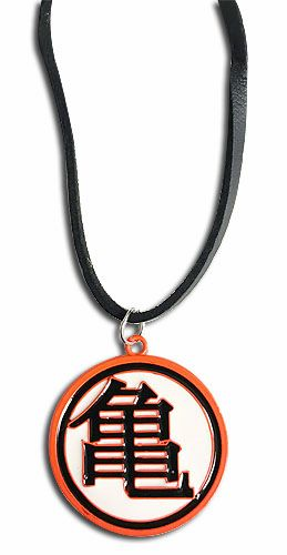 Dragon Ball Orange Turtle Symbol Necklace