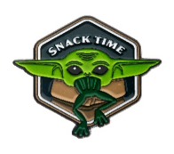 Baby Yoda Snack Time Pin