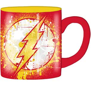 Flash Splatter Paint Logo 14oz. Mug