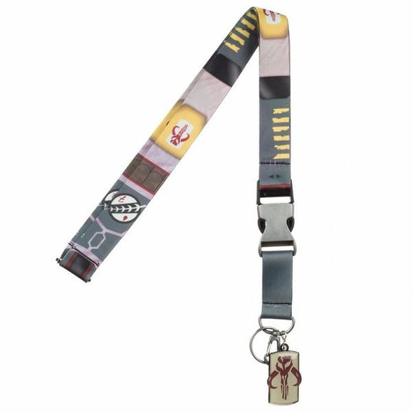 Boba Fett Suit Up Lanyard