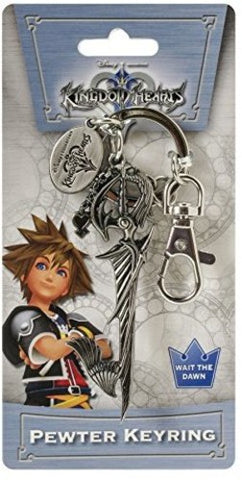 Kingdom Hearts Riku Sword Keyblade Pewter Keychain