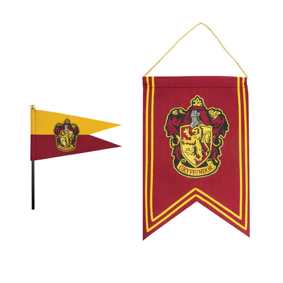 Gryffindor Felt Banner and Flag Set