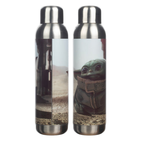 Grogu Baby Yoda 22oz. Stainless Steel Water Bottle