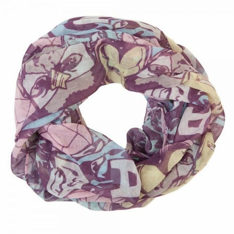 Pastel Marvel Comics Fashion Scarf