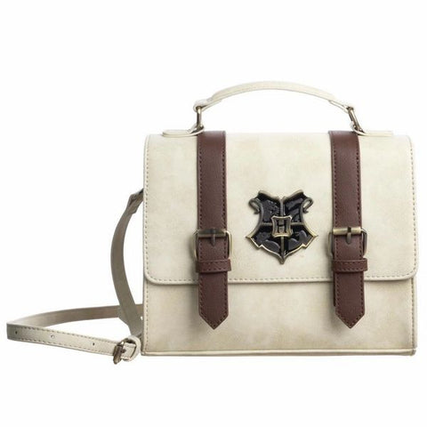 Ivory colored Hogwarts Trunk Inspired Satchel Handbag