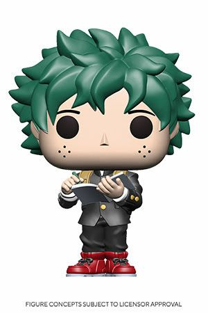 Deku with Book Funko Pop! (Middle School Uniform)